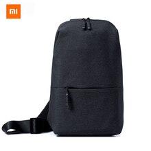 Original Xiaomi Mi Shoulder Bag Simple Chest Pack Men Bag Women Casual Mini Bag Fashion Type Rucksack For Camera Phones
