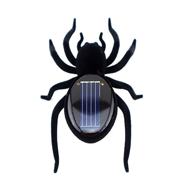 Realistic Creepy Solar Power Spider Toy Kids Adults Funny Joking Toy Prank Toy Halloween Gift For Treat Or Trick