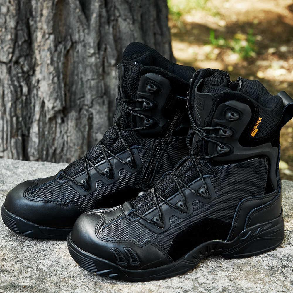 MGN Merk Air Mesh Ademende Mannen Desert Militaire Tactische Laarzen Mannelijke Schoenen Sneakers Voor Vrouwen antislip Werkkleding klimmen Schoenen