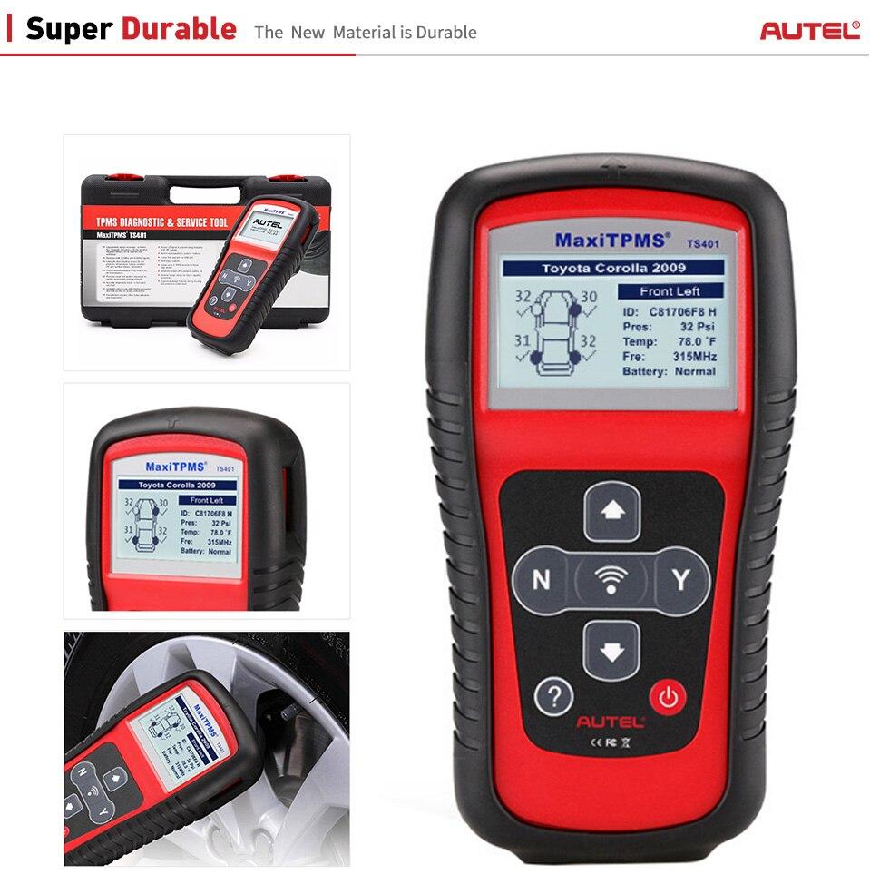 Image 5 - Autel TS401 TPMS Sensor Read Tire Pressure Diagnostic Activate Decode Tool Car Tools MaxiTPMS TS401 Sensor Diagnostics Tools-in Code Readers & Scan Tools from Automobiles & Motorcycles