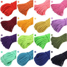 5m/lot 2.5mm Colorful High-Elastic-Quality Round Elastic Band Rope Rubber Line DIY Sewing Accessories