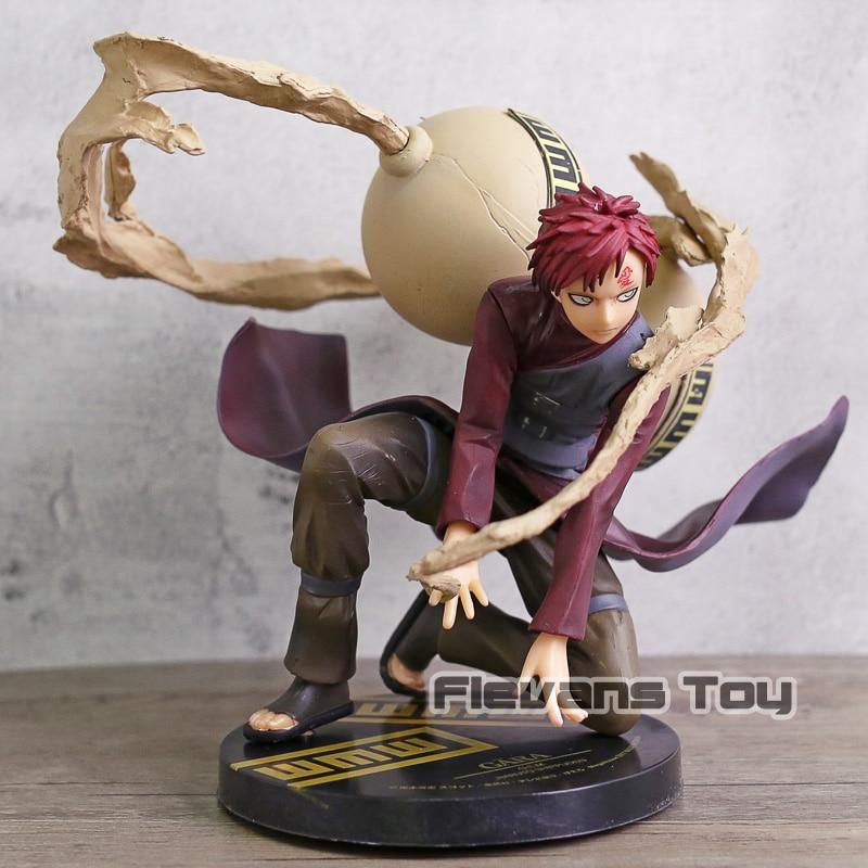 Naruto Shippuden Gaara Kazekage PVC Figure Anime Naruto Ninjia Collection Model Figurine Toy Birthday Gift