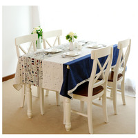 2016 Hot Sale New Table Cloth Little Plane Pattern Table Cover Coffee Table Cloth Hotel Restaurant