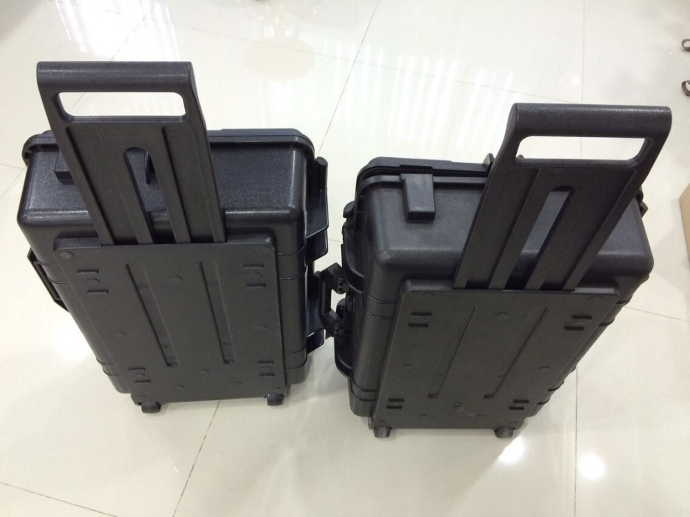 high quality trolley case Impact resistant sealed waterproof safety case security tool equipment tool case with pre-cut foam tool case gun suitcase box long toolkit equipment box shockproof equipment protection carrying case waterproof with pre cut foam
