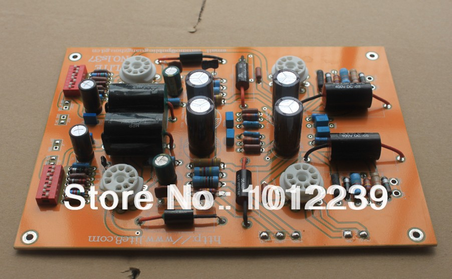 Assembled  LS37 tube phono stage  MM & MC dual input/high feedback LS37 tube board assembled ls37 tube phono stage mm