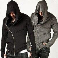 2018 Marque Design Hommes Hoodies Hop Streetwear Zipper Mode de Sweat Hommes Survêtement Hommes Assassins Creed Hoodies