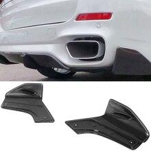 Carbon fiber Rear Lip Splitter Side Valences Fit For BMW F15 X5 M-Sport