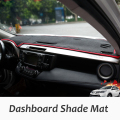 LHD Car Dashboard Cover Cushion Dashboard Protective Mats Shade Mat Carpets for Toyota RAV4 XA40 2013 2014 2015 2016 Car Styling