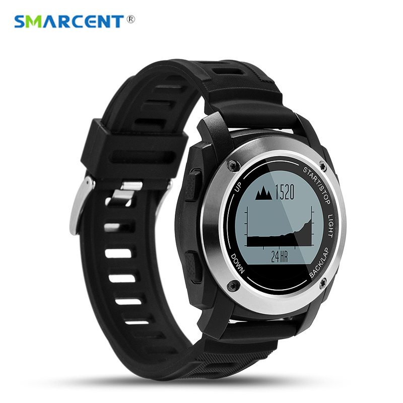 SMARCENT S928 Sports Smart Watch Support G-sensor GPS Heart Rate Sleep Monitor Smart Wristwatch Message Reminde for Android IOS smart baby watch q60s детские часы с gps голубые