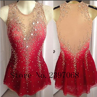 Custom Ice Skating Dresses Graceful New Brand Figure Skating Dresses For Competition DR4212