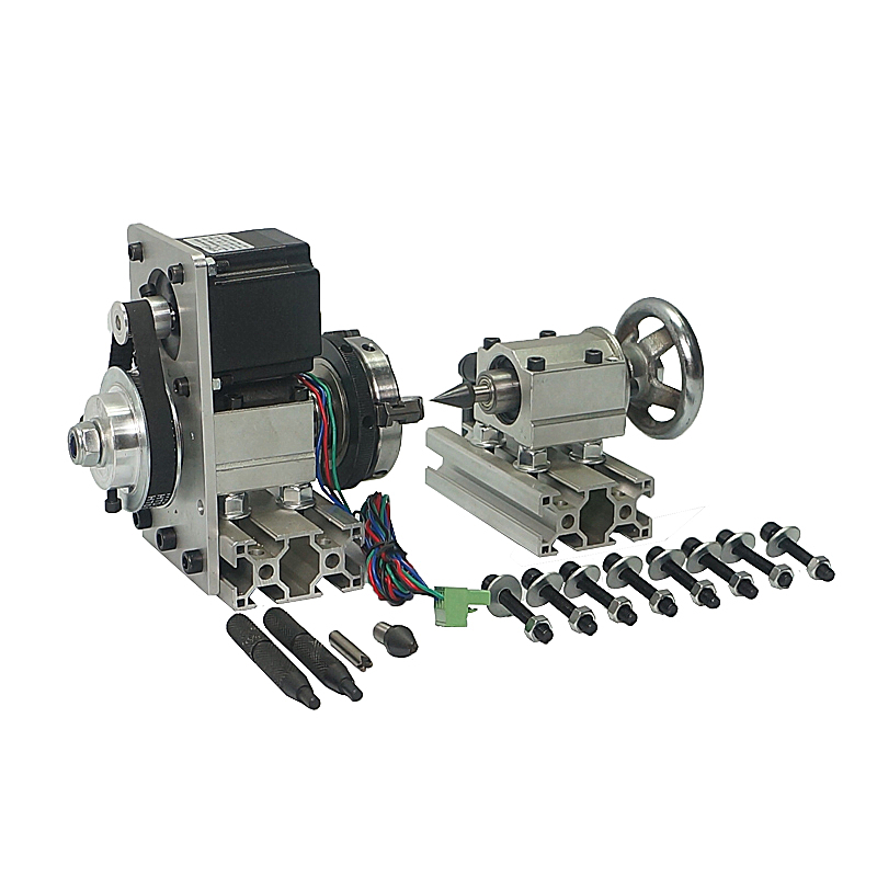 Rotary Axis A Axis 4th Axis Dividing Head Suitable CNC Router 3040 6040 6090