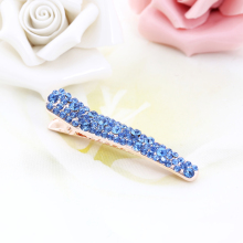 Grand Bling 1 Pieces Elegant Europe America Vintage Side Clip Full Crystal Hairpins Hair Jewelry Wholesale