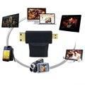 3 em 1 Mini Mircro HDMI Masculino Para Feminino HDMI Padrão digite Um Adaptador Converter Extensão Conector V1.4 Para 1080 P/I 1440 P 720 P 3D