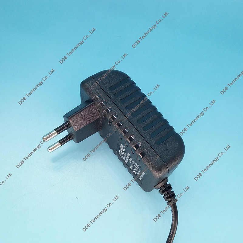 5 sztuk wysokiej jakości DC 15 V 2A programu IC AC 100-240 V konwerter przełączania zasilacz 2000mA dostaw ue podłącz 5.5*2.5mm ładowarka