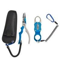 Hot Sale Fishing Set Aluminium Fishing Lip Grips Fishing Pliers Portable Fishing Tools Set Easy Carry