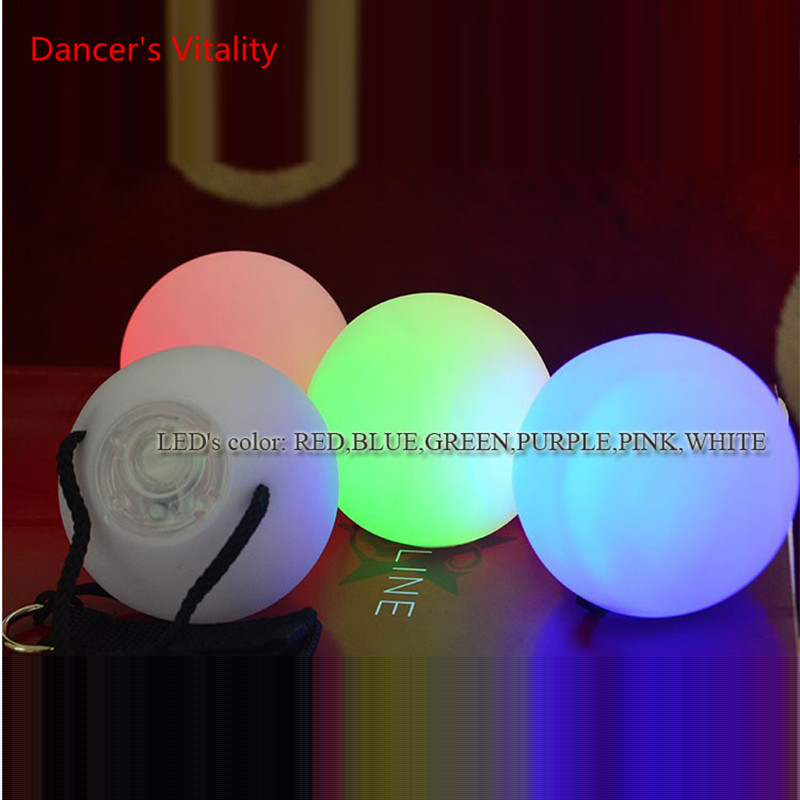 2 Pcs. Balloon Scene POI Balls For Belly Dance Level Manual Props Belly Dance Accessories
