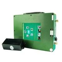 Литиевая батарея для автомобиля 12 В 80ah ультра тонкий портативный с 10A/ч зарядное устройство Бесплатная доставка