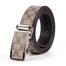 ФОТО hot  luxury brand belts for men belt strap male genuine leather designer style belt 2017 high quality clothing accessories strip