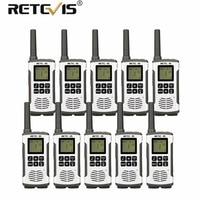 10pcs Cheap Wholesale Retevis RT45 PMR Walkie Talkie PMR446 Radio 446MHz/FRS Hf Transceiver VOX Micro USB Charge Walkie Talkies