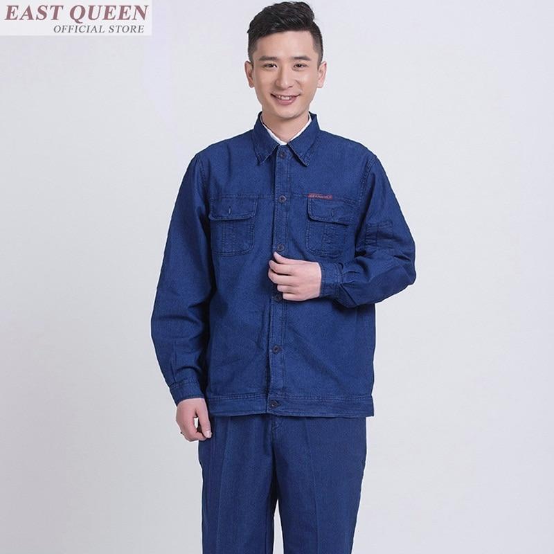 Work Wear Uniform Work Clothes For Men Mechanic Engineering Uniform Workwear Overalls Workshop Repairman Clothes FF641