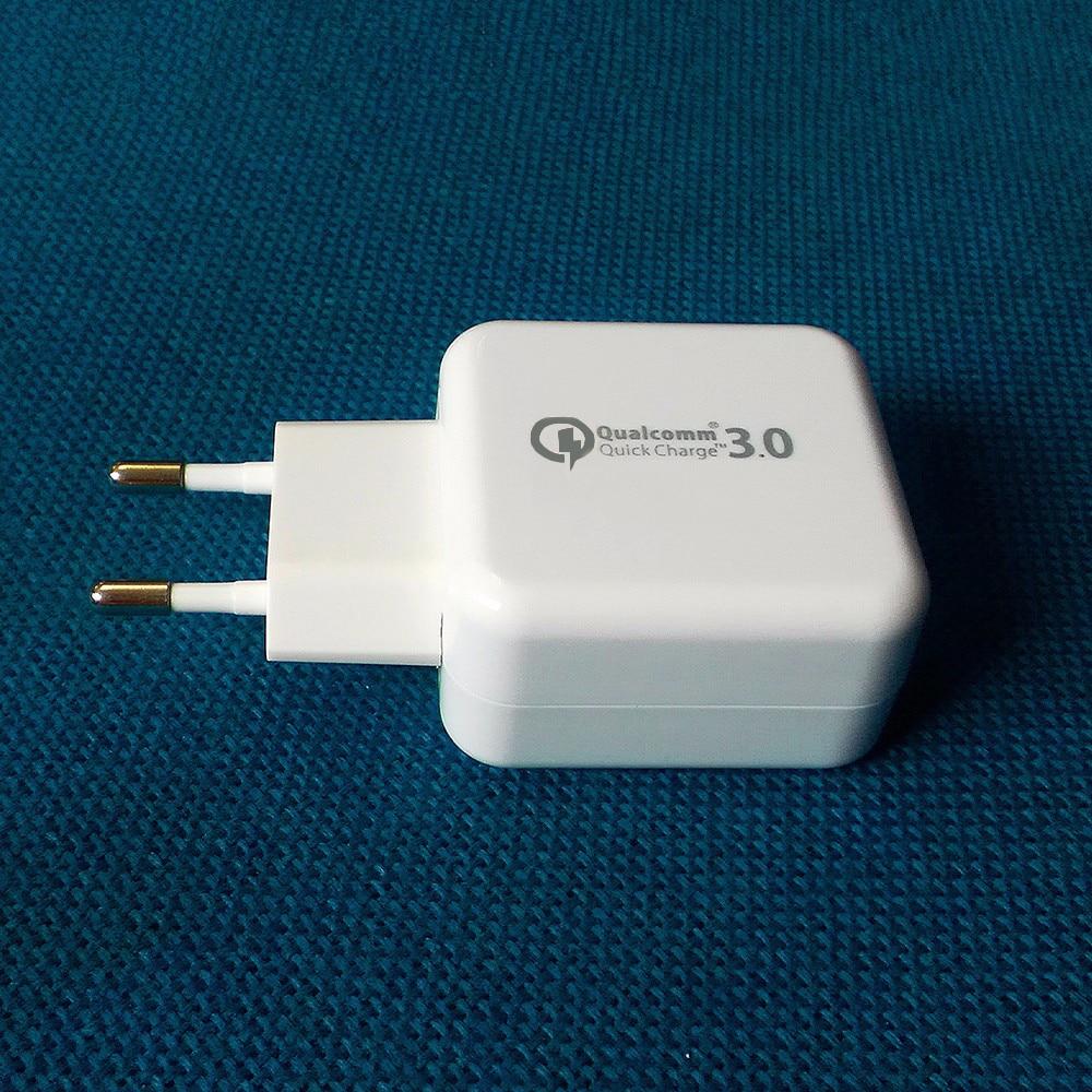 18W Бързо зареждане 3.0 QC 3.0 USB Turbo Стена - Резервни части и аксесоари за мобилни телефони - Снимка 2