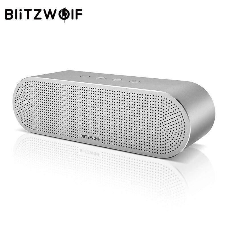 BlitzWolf Sans Fil Haut-Parleur Stéréo Bluetooth Haut-parleurs Portable V4.0 de Deux Pilotes Haut-Parleur 20 W Pour iPhone X 8 Pour Xiaomi Smartphone
