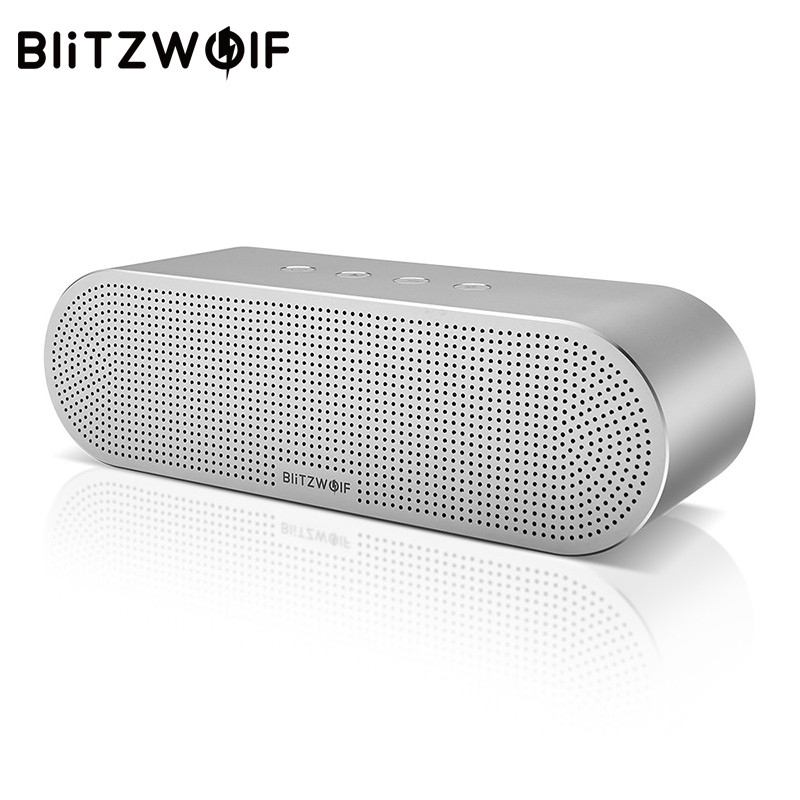 BlitzWolf Wireless Speaker Stereo Bluetooth Speakers Portable V4.0 Dual Drivers Speaker 20W For iPhone X 8 For Xiaomi Smartphone bv200 portable wireless bluetooth speaker outdoor pocket stereo speaker