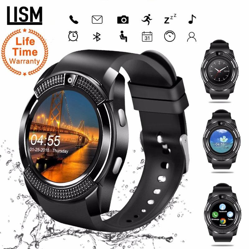 2019 SmartWatch Bluetooth Smartwatch Touch Screen Wrist Watch with Camera/SIM Card Slot, Waterproof Smart Watch DZ09 X6 VS M2 A1