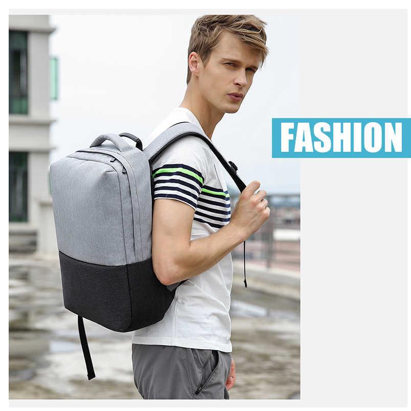 2019 Новая мода высокого качества kAKA бренд корейский стиль унисекс школьные сумки для деловых поездок для мужчин и женщин 15,6 рюкзак для ноутбука