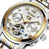 Switzerland BINGER Watches Men Luxury Brand Tourbillon Sapphire Luminous Multiple Functions Mechanical Wristwatches B8601 8
