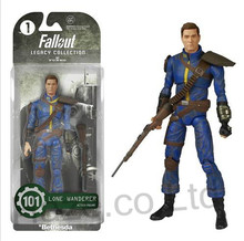 Game Fallout 4 Figure Model  Cosplay Kids Doll  with Box  15cm