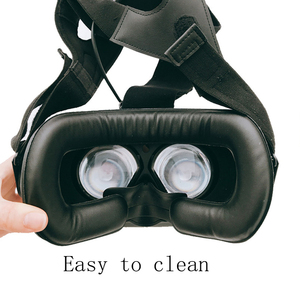Image 5 - for HTC vive/pro VR Memory Face Foam Replacement . Comfortable Pu Leather Cushion Pad, Increased FOV. 10*210 * 110 mm