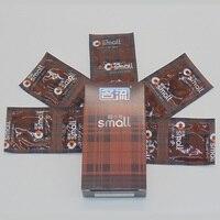30 шт./лот малый презервативы интимные товары для для мужчин плотно потворствует секс-игрушки preservativo