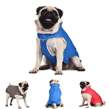 Christmas Gifts Waterproof Dog Jacket Designer Warm Plaid Winter Dog Coats Pet Clothes Elastic Small to Large Dog Clothes Winter