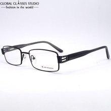 New Design High Quality Flexible Black Stainless Steel Women Optical Glasses Vintage Square Diamond Eyeglasses Frame