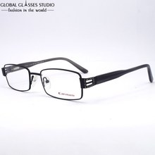 New Design High Quality Flexible Black Stainless Steel Women Optical Glasses Vintage Square Diamond Eyeglasses Frame RCE-126