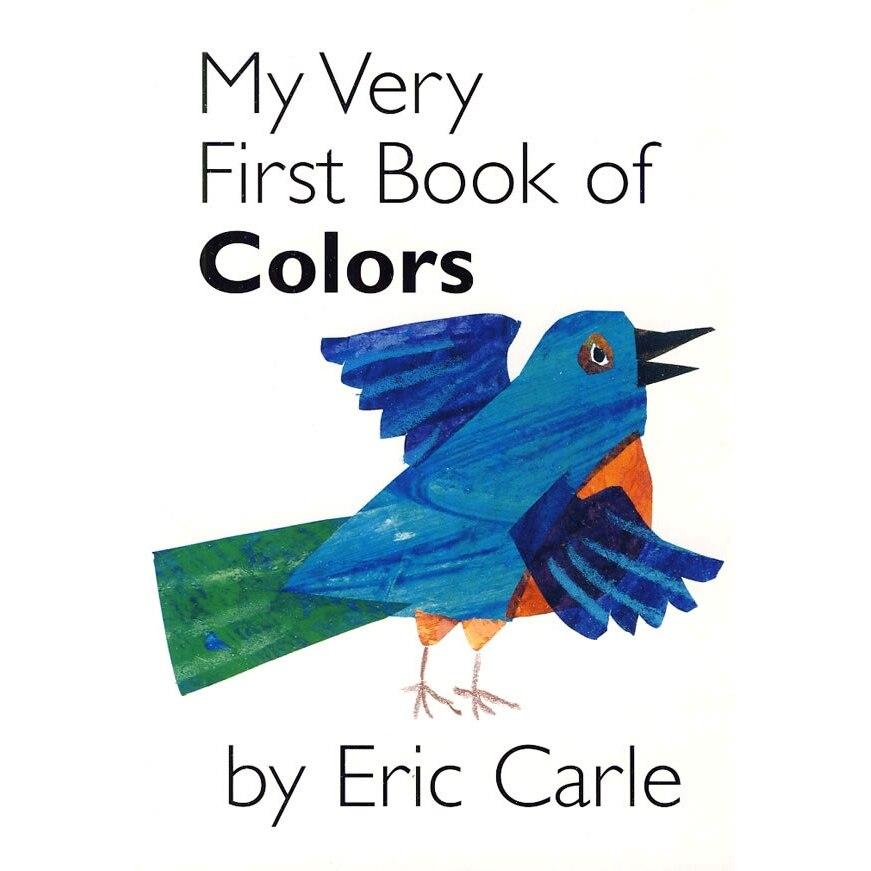 Mon tout premier livre de couleurs par Eric Carle livres bébé apprendre l'anglais livres à colorier pour enfants enfants jouets d'apprentissage