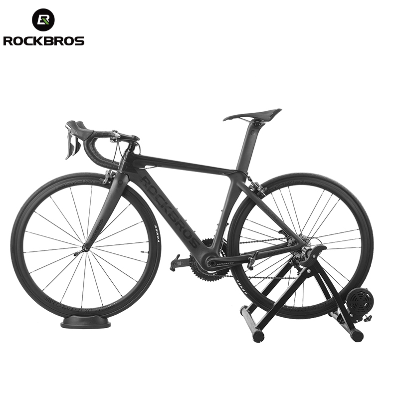 ROCKBROS  Road Bike Wheel Stand Station Professional Bike Trainer Booster Device Riding Station Front Wheel Bicycle Accessories
