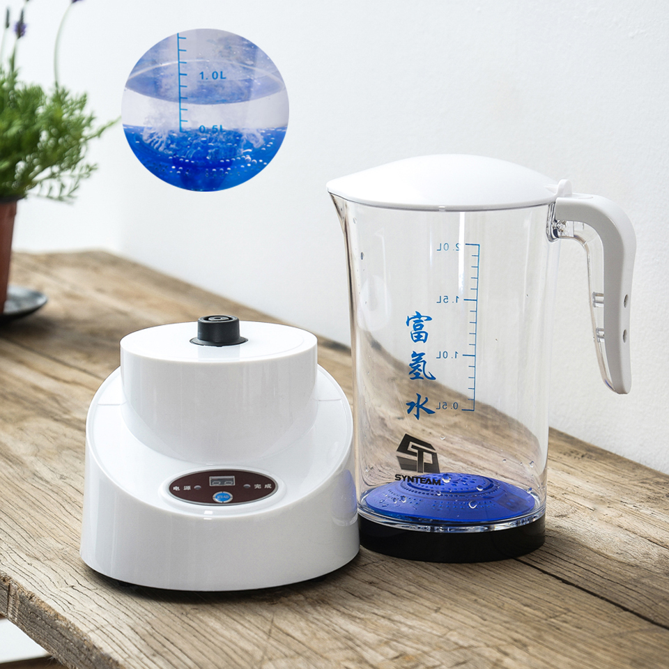 Генератор водородной воды SYNTEAM генератор водородной воды чайник ионизатор щелочной воды 2000 мл продукт здравоохранения 100 В-240 В WAC002