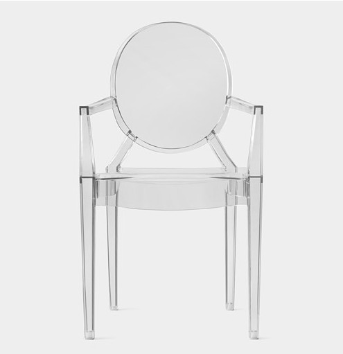 Online Shop 6 X Louis Ghost Chair Clear Plastic Chairs pedicure
