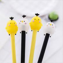 2 шт/лот kawaii милые цыплята креативная гелевая ручка нейтральная