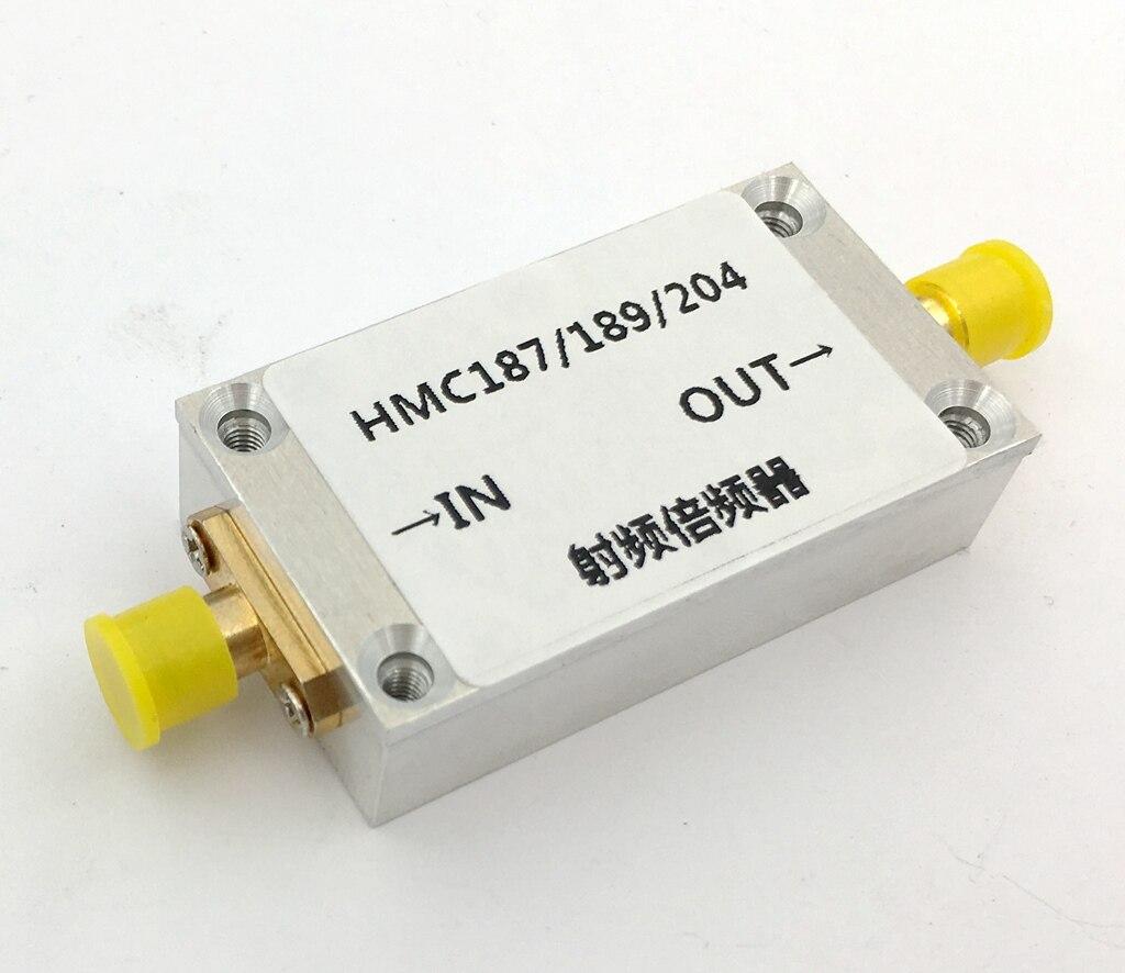 Radio Frequenza Moltiplicatore HMC187 HMC189 HMC204 Alloggiamento Della Lega di Alluminio Schermato 0.8-8 ghzRadio Frequenza Moltiplicatore HMC187 HMC189 HMC204 Alloggiamento Della Lega di Alluminio Schermato 0.8-8 ghz