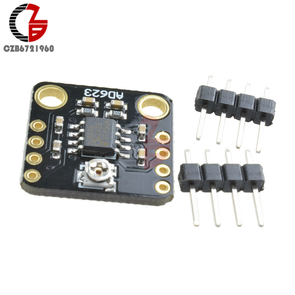 Ad623 Gain Instrument Meter Amplifier Module Cmrr Gauge Amp Board Of The Audio Preamplifier Integrated Circuit Lm358 Dual Op Single Polarity Dc 3v 5v 12v For Transducer Thermocouple In Parts