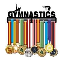 Металлическая медаль Вешалка для гимнастики удерживает 30 ~ 40 медалей