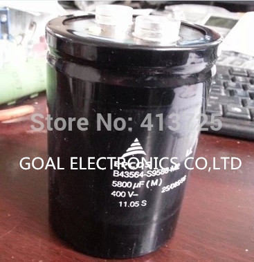 B43564-S9588-M2/M1 inverter electrolytic capacitor 5800uf/400v