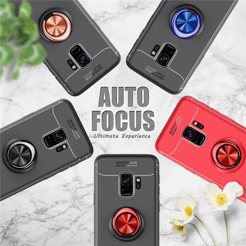 Car Holder Stand Magnetic Bracket Finger Ring TPU Case For SAMSUNG Galaxy S9 S8 Plus Note 8 J330 J530 J730 J4 J6 J8 A6 Plus 2018 (16)