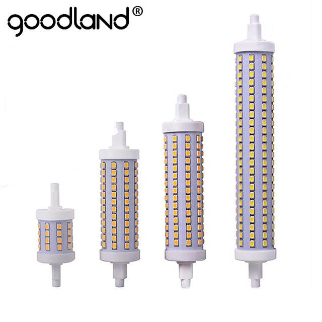 Remplacer 265 Halogène Ampoule 85 Led W 25 Dimmable Lampes 14 R7s 118mm 7 Lampada Lampe 135mm 20 78mm 189mm Smd2835 V 5R4A3jLq