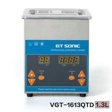 GT SONIC injektor ultraschall halsketten armbänder ringe ohrringe reiniger 40 KHz VGT-1613QTD mit reinigung korb