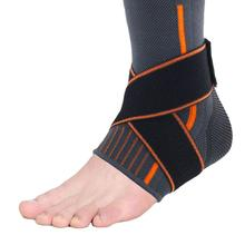 1 PC Elastic Compression Ankle Bandage Straps Sports Anklets Retainer Workout Lock Protection Sleeve Double Pressure