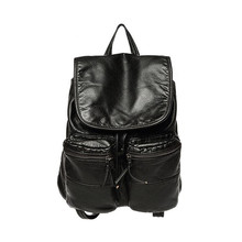 Z80 высокое качество женщины искусственная кожа старинные рюкзак колледжа опрятный стиль школьные рюкзаки мода досуг дорожная сумка Mochila